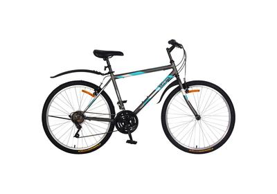 """Велосипед Life Series 26"""" (18 скоростей) серо-голубой"""