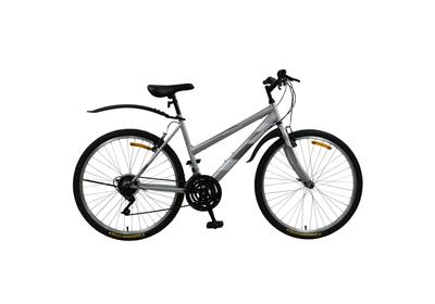 """Велосипед Life Series 26"""" (18 скоростей) серо-белый. """"Женский"""""""